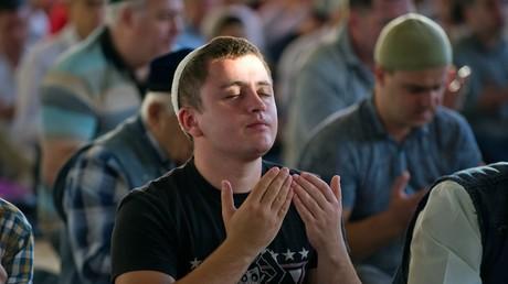Muslime begehen Opferfest in Russland