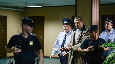 Der Vorwurf: Korruption und Amtsmissbrauch. Dmitri Sachartschenko wird abgeführt.