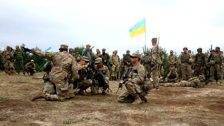 """US-Spezialeinheiten trainieren ukrainische Soldaten in """"Angriffstaktiken aus dem Hinterhalt"""""""