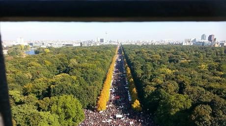 Live: Tausende zu Protest gegen TTIP und CETA in Berlin erwartet