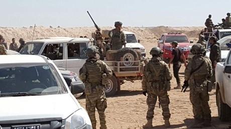 US-Spezialeinheiten in Syrien.