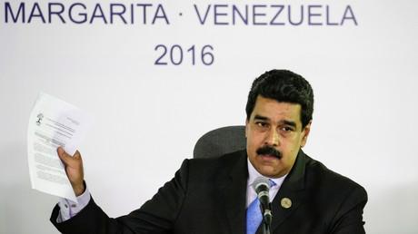 Der venezolanische Präsident Nicolas Maduro.
