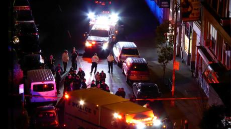 Chaos auf New Yorks Straßen. US-Medien kennen den Schuldigen.