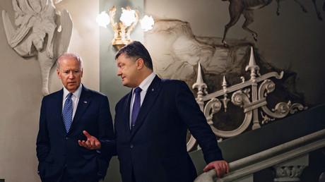 Noch hat US-Vizepräsident Joe Biden die meisten EU-Staaten hinter sich, wenn es um die Frage der Sanktionen gegen Russland geht. Er machte dem ukrainischen Präsidenten Poroschenko jedoch deutlich, dass dies kein Dauerzustand bleiben muss.