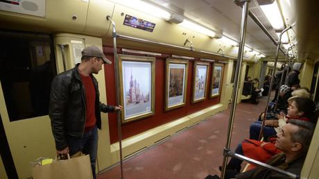 """Moskauer Metro: Neue """"Kunstzüge"""" in Dienst gestellt"""