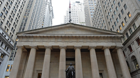 Das eigentliche Machtzentrum: An der Wall Street in New York werden die Entscheidungen über Krieg und Frieden getroffen.