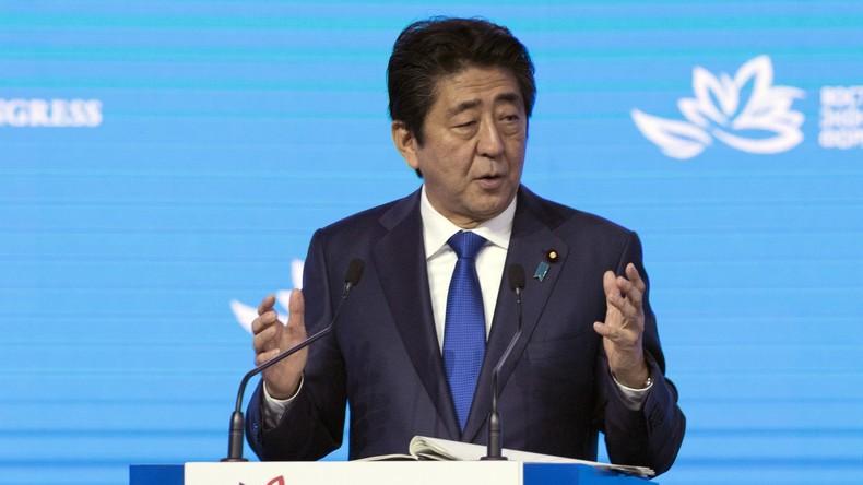 """Japans Premier: """"Wir beraten uns mit den USA nicht über jeden Punkt der Verhandlungen mit Russland"""""""