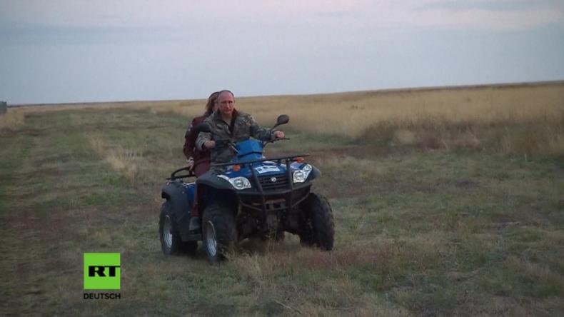 """""""Diese Pferde sind praktisch von der Erde verschwunden"""" - Putin entlässt Wildpferde in die Freiheit"""
