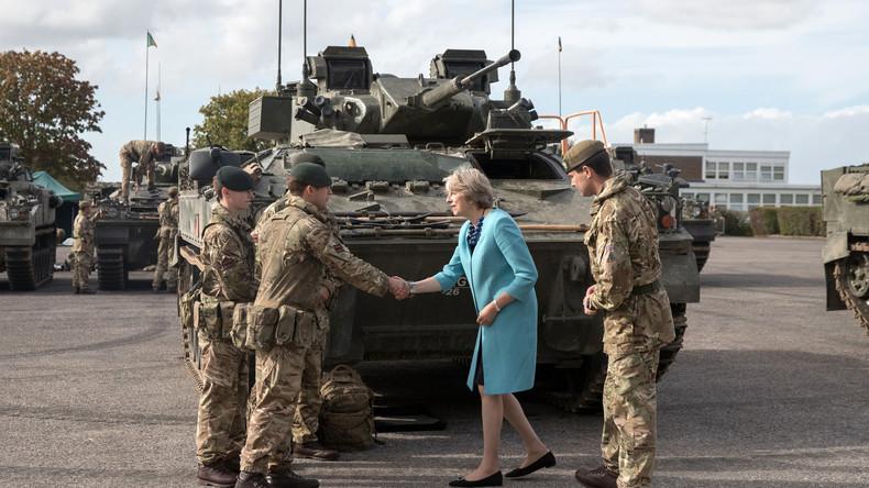 Großbritannien hebelt Menschenrechtskonvention für Armee aus