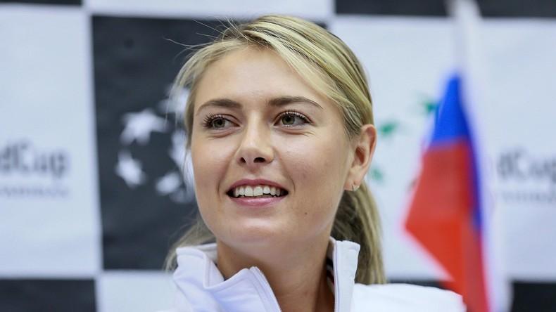 CAS: Tennisspielerin Maria Scharapowa ab April 2017 zurück im Spiel