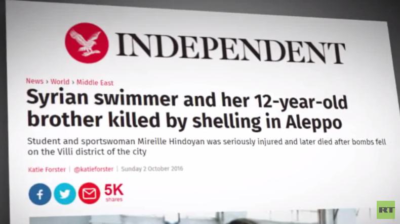 Erwischt: Britische Zeitung macht Russland für Rebellen-Angriff verantwortlich