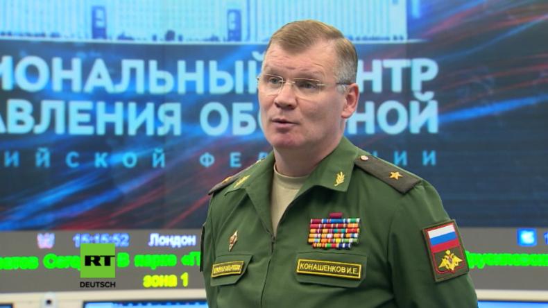 Konaschenkow: USA erfüllten nicht eine Syrien-Vereinbarung und unterstützen Terroristen