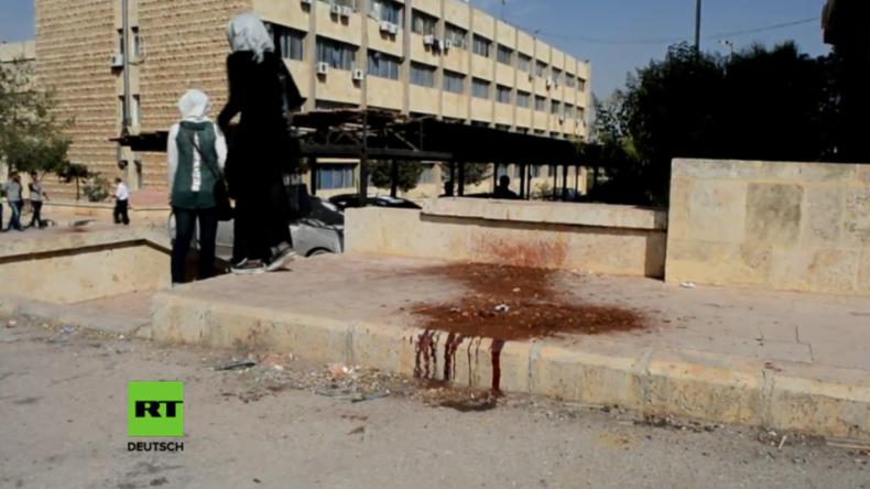 Aleppo: Mehrere tote Zivilisten und Dutzende Verletzte nach Raketen-Angriffen von Islamisten