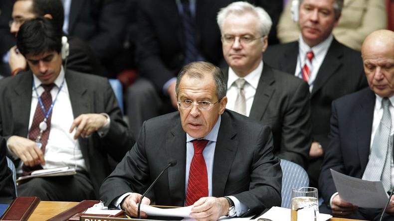 Nach Blockade von UN-Resolution: Moskau sieht Diplomatie in Gefahr