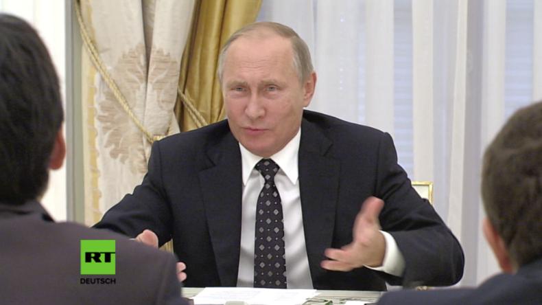 Russland: Lehrer wird nervös, nachdem Putin fragt, wie viel er verdient