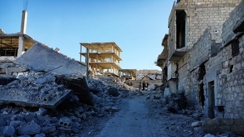 Aleppo: Internationale Journalisten mit Mörsergranaten beschossen
