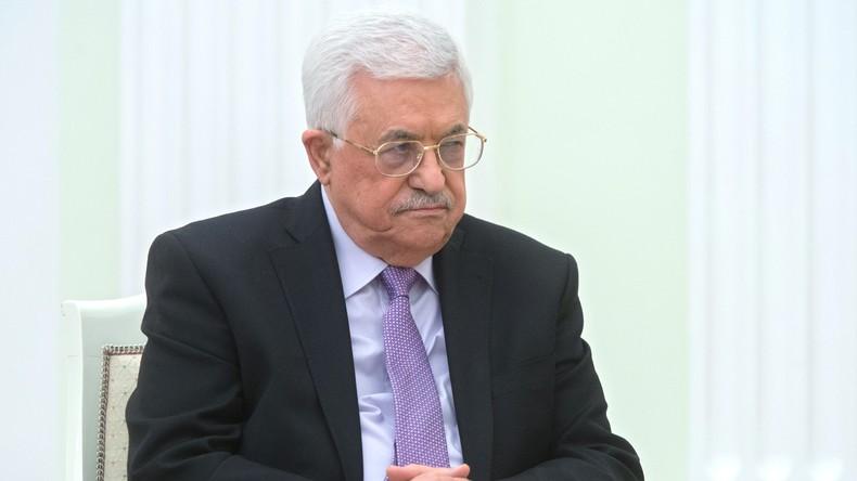 Palästina: Mahmud Abbas ins Krankenhaus eingewiesen