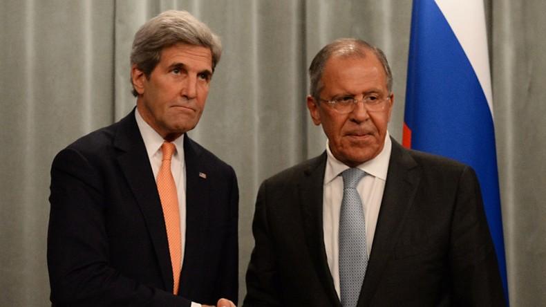 Russisches Außenministerium: Lawrow und Kerry telefonieren fast jeden Tag