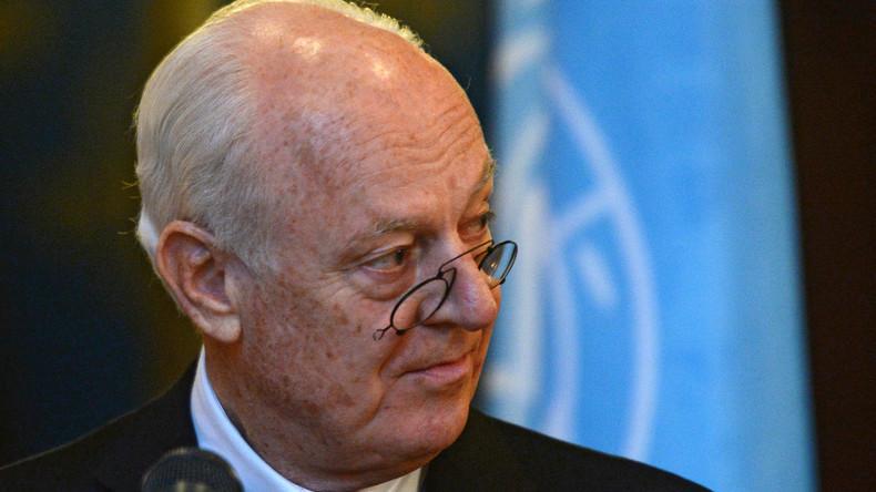 Staffan de Mistura: Aleppo kann in zwei Monaten dem Erdboden gleich gemacht werden