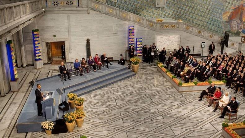 Live: Friedensnobelpreisträger werden in Oslo verkündet