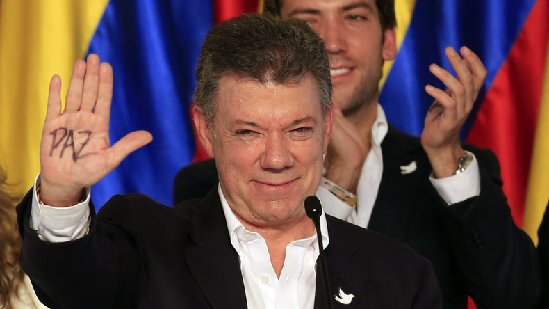 Kolumbianischer Präsident wird Friedensnobelpreisträger