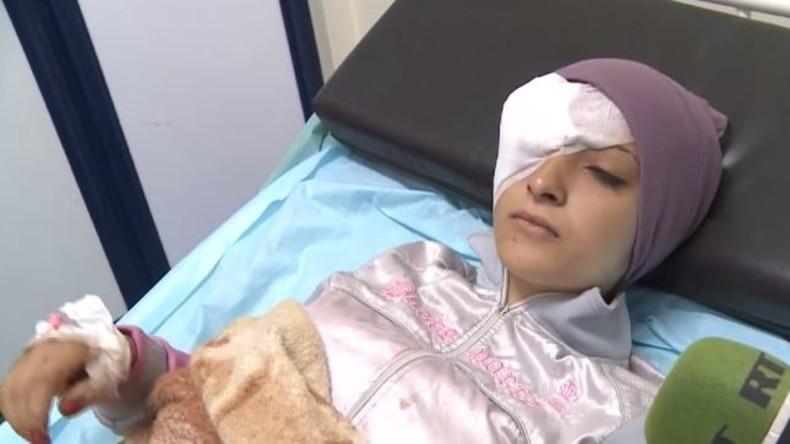 Syrien: Rebellen greifen Universität von Aleppo mit Raketen an, RT spricht mit den Opfern