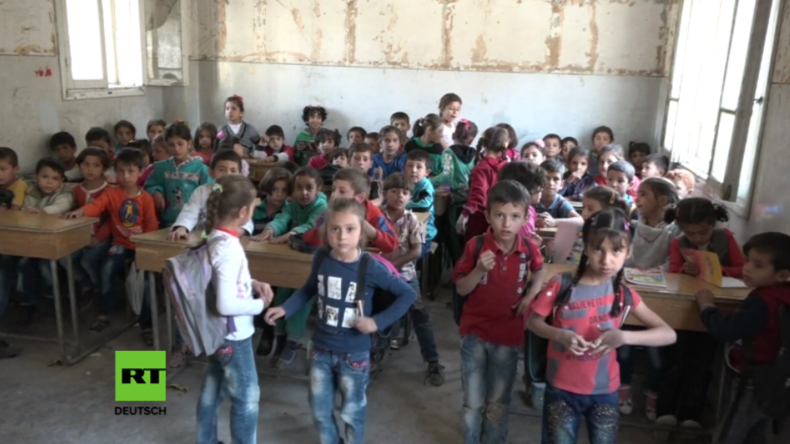 Syrien: Schulen in Manbidsch nach Sieg gegen den IS für 35.000 Schüler wiedereröffnet