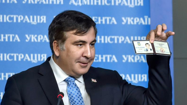 Saakaschwili nimmt Stellvertreter aus dem Westen in Dienst