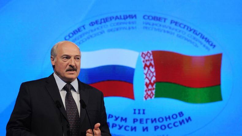 Lukaschenko: Im Westen werden wir sterben, aber Weißrussland und Russland verteidigen
