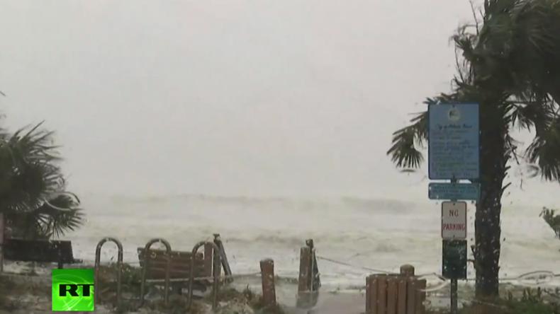 Live: Hurrikan Matthew wütet an US-Ostküste