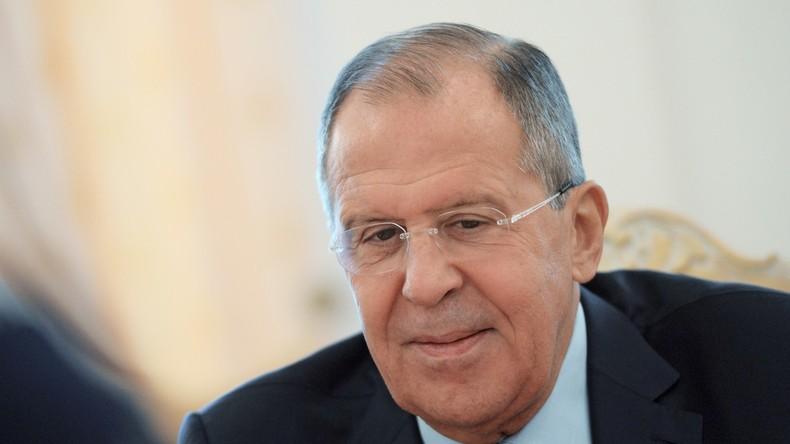 """Sergei Lawrow: """"Die russisch-amerikanischen Beziehungen haben sich grundlegend verändert"""""""