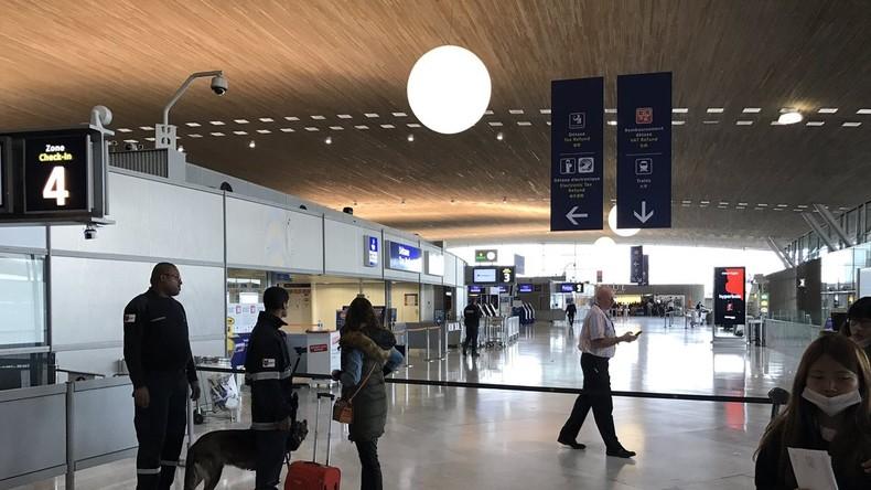 Vermutlich Probealarm - Flughafen Paris-Charles-de-Gaulle evakuiert