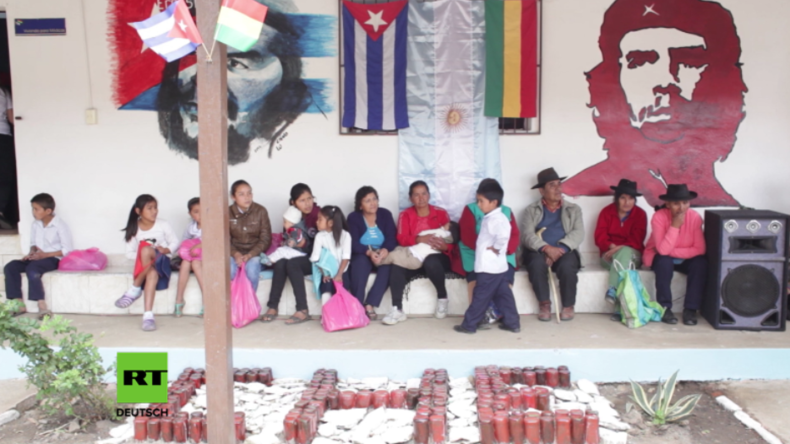 """Bolivien: """"Die Menschen kommen und weinen um ihn"""" - Kulturzentrum zu Ehren Che Guevaras eröffnet"""