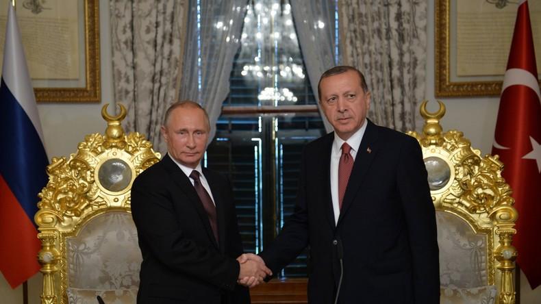 Russland und Türkei unterzeichnen Turkish-Stream-Abkommen