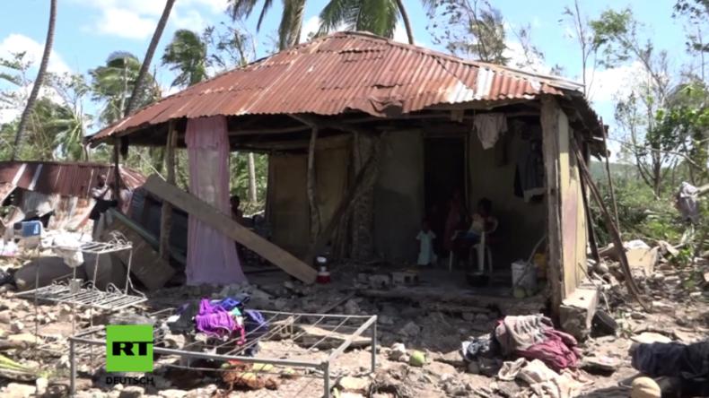 """Breite Zerstörung in Haiti und mindestens 1.000 Tote: """"Hurrikan Matthew hat mir alles genommen"""""""