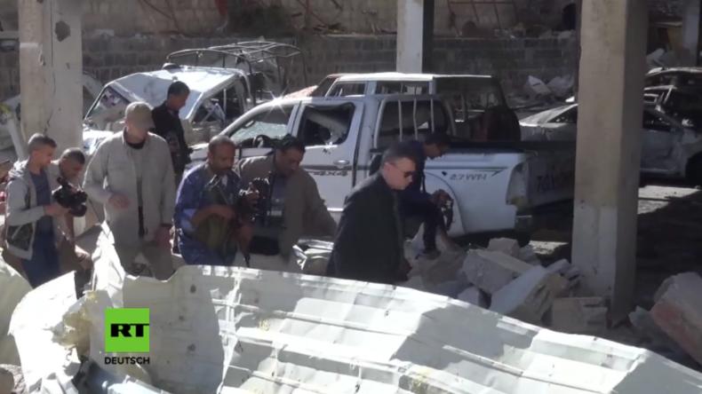 Jemen: Russischer Botschafter besucht Ort der tödlichen Luftangriffe durch Saudi-Koalition