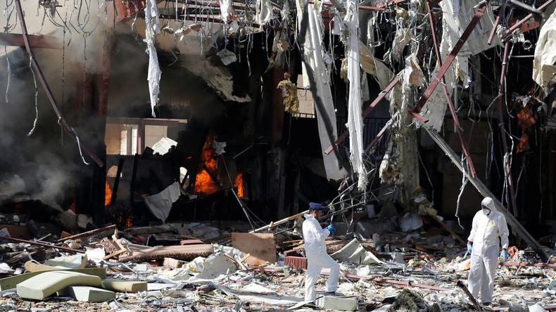 Medien: Saudi-Arabien gibt zu, dass Sanaa ein Flugzeug der Koalition angegriffen hat