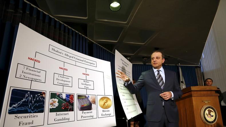 JP Morgan: Verdächtiger wegen größten Cyberangriffs aller Zeiten in Moskau festgenommen