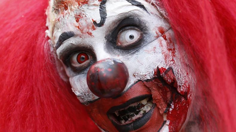 """Perverser Trend in Großbritannien: """"Killerclowns"""" sorgen für Angst und Schrecken"""