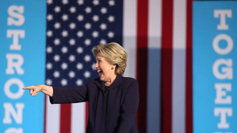 Media Darling Hillary: Mainstream-Schützenhilfe für Clinton entlarvt