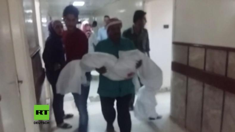 Syrien: Terroristen starten Raketenangriff auf Grundschule und töten mindestens fünf Kinder