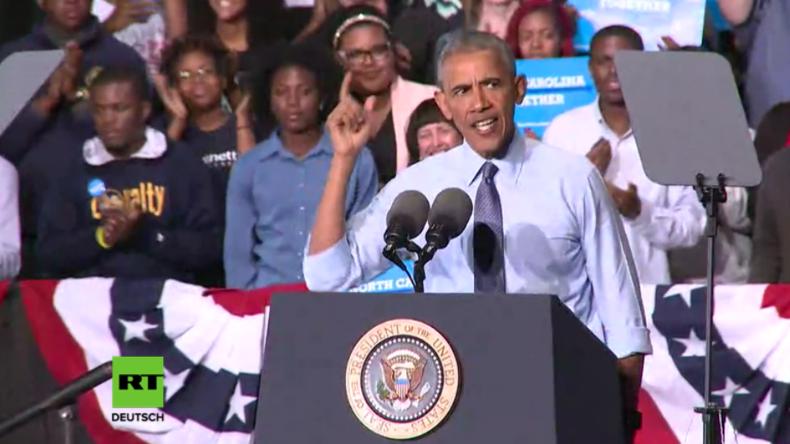"""Obama: """"Trump ist ungeeignet dafür, die tollste Demokratie der Welt zu führen"""""""