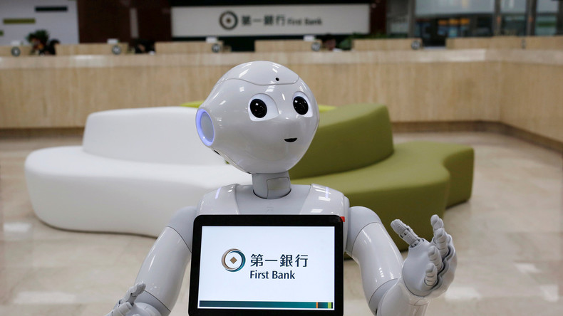 Deus ex machina - Roboter ersetzen Menschen