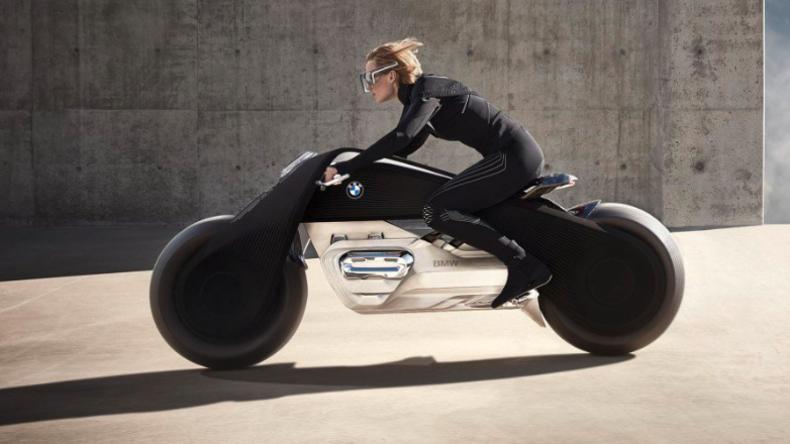 """BMW präsentiert unfallsicheres """"Motorrad der Zukunft"""""""