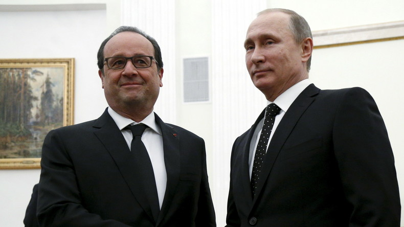 """Chaos-Diplomatie in Paris: """"Putins Absage hilft Frankreich, sein Gesicht zu wahren"""""""