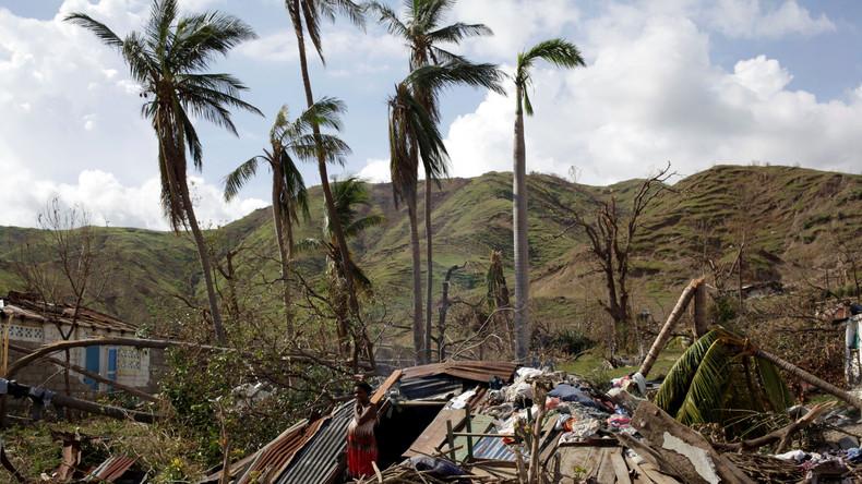 Folgen des Hurrikans Matthew: USA werden vorläufig keine Haitianer abschieben
