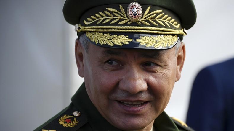 Russischer Verteidigungsminister: Westen gibt russische Manöver für neuen Kalten Krieg aus