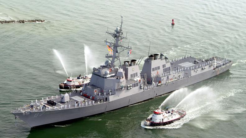 US-Kriegsschiff vor jemenitischer Küste erneut beschossen