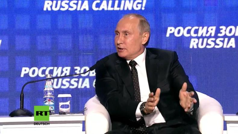 Putin packt über französische Syrien-Resolution aus: Sie wollten nie eine Lösung, sondern unser Veto