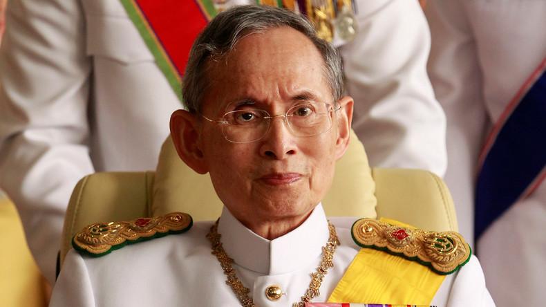 König von Thailand  verstorben